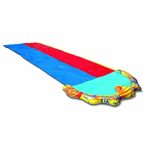 無料ラッピングでプレゼントや贈り物にも 逆輸入並行輸入送料込 プール ビニールプール ファミリープール オーバルプール 家庭用プール 送料無料 BANZAI Splash Sprint Water Summerプール 商品 16 Slide Racing Lanes Pool Foot and with 在庫一掃売り切りセール Adventure Dual