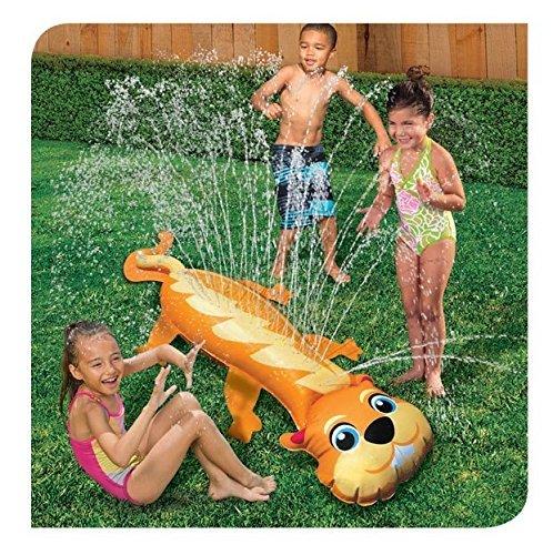 フロート プール 水遊び おもちゃ Banzai Chipmunk Backyard Critter Water Slideフロート プール 水遊び おもちゃ