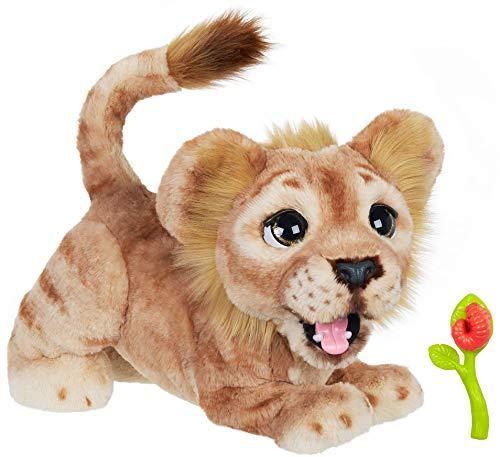 ファーリアルフレンズ ぬいぐるみ 動く 鳴く お世話 Hasbro Disney The Lion King Mighty Roar Simba Interactive Plush Toy, Brought to Life by Furreal, 100+ Sound &-Motion Combinations, Ages 4 & Upファーリアルフレンズ ぬいぐるみ 動く 鳴く お世話