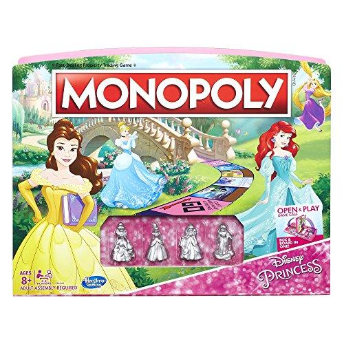 無料ラッピングでプレゼントや贈り物にも 出色 逆輸入並行輸入送料込 ボードゲーム 正規品スーパーSALE×店内全品キャンペーン 英語 アメリカ 海外ゲーム 送料無料 Game Editionボードゲーム Princess Monopoly Disney