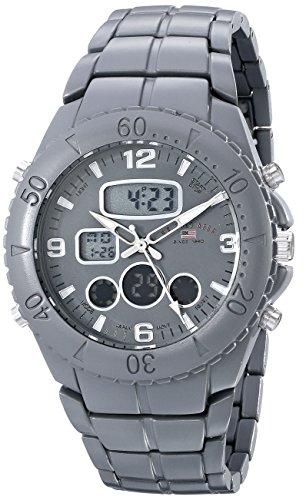 ユーエスポロアッスン 腕時計 メンズ 【送料無料】U.S. Polo Assn. Sport Men's US8579 Analog-Digital Display Analog Quartz Grey Watchユーエスポロアッスン 腕時計 メンズ