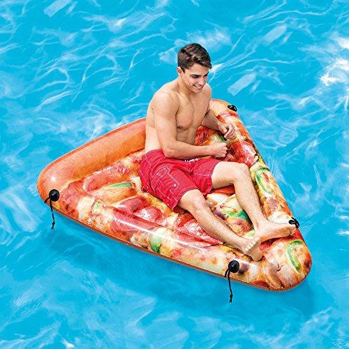 フロート プール 水遊び 浮き輪 Intex Pizza Slice Inflatable Mat with Realistic Printing, 69in X 57inフロート プール 水遊び 浮き輪
