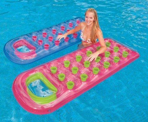 フロート プール 水遊び 浮き輪 【送料無料】Intex 18-Pocket Suntanner Lounge Floating Lounger - (Set of 2) | 59895EPフロート プール 水遊び 浮き輪