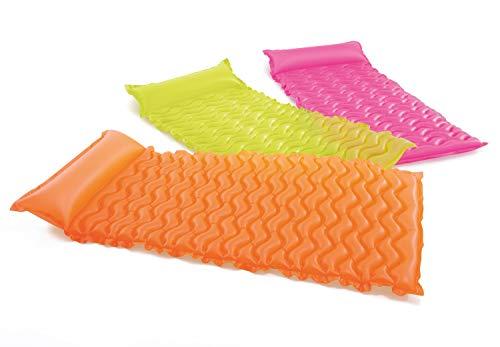フロート プール 水遊び 浮き輪 Intex Recreation Tote-N-Float Wave Mat 58807E Inflatable Toys (Colors May Vary)フロート プール 水遊び 浮き輪