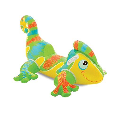 フロート プール 水遊び 浮き輪 【送料無料】Intex Smiling Gecko Ride-On, 54 1/2