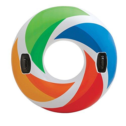 フロート プール 水遊び 浮き輪 Intex Color Whirl Tube 48 inchフロート プール 水遊び 浮き輪