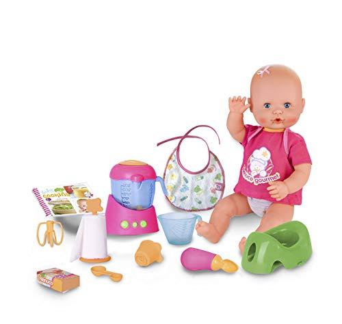 ネヌコ 赤ちゃん 人形 ベビー人形 おままごと Nenuco My First Meal (Famosa 700014513), Multi-Colourネヌコ 赤ちゃん 人形 ベビー人形 おままごと