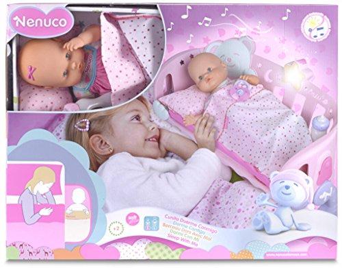 無料ラッピングでプレゼントや贈り物にも。逆輸入並行輸入送料込 ネヌコ 赤ちゃん 人形 ベビー人形 おままごと 【送料無料】Nenuco Sleep With Me Cotネヌコ 赤ちゃん 人形 ベビー人形 おままごと