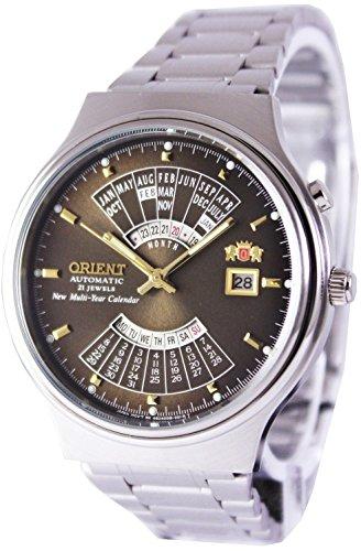オリエント 腕時計 メンズ 【送料無料】Orient Multi Year Calendar Perpetual World Time Automatic Men's Watch FEU00002TWオリエント 腕時計 メンズ
