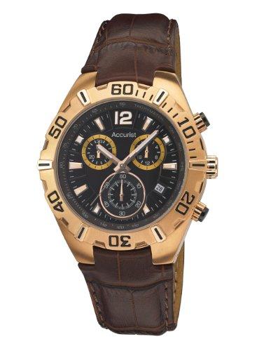 腕時計 腕時計 アキュリスト メンズ イギリス 【送料無料】Accurist MS836BR - Wristwatch, Men, Leather, color: Brown腕時計 腕時計 アキュリスト メンズ イギリス