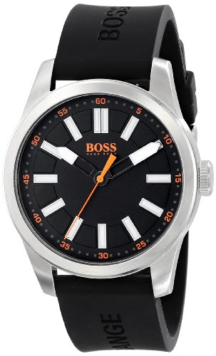 ヒューゴボス 高級腕時計 メンズ BOSS Orange Men's 1512936 Big Up Analog Display Quartz Black Watchヒューゴボス 高級腕時計 メンズ