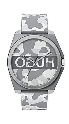 ヒューゴボス 高級腕時計 メンズ Hugo Men's #Play Quartz TR90 and Rubber Strap Casual Watch, Color: Camouflage (Model: 1520018)ヒューゴボス 高級腕時計 メンズ