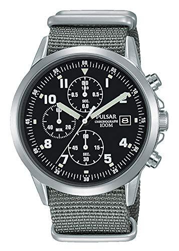 パルサー SEIKO セイコー 腕時計 メンズ Mens Pulsar Military Style Chronograph Watch PM3129X1 - Formally and Enhanced PJN305X1パルサー SEIKO セイコー 腕時計 メンズ