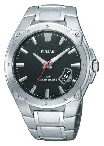 パルサー SEIKO セイコー 腕時計 メンズ 【送料無料】Pulsar Men's PXH823 Sport Black Dial Watchパルサー SEIKO セイコー 腕時計 メンズ