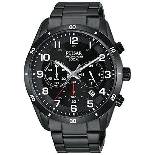 パルサー SEIKO セイコー 腕時計 レディース 【送料無料】Pulsar PT3831X1 Men's Chronograph Stainless Steel Bracelet Watchパルサー SEIKO セイコー 腕時計 レディース