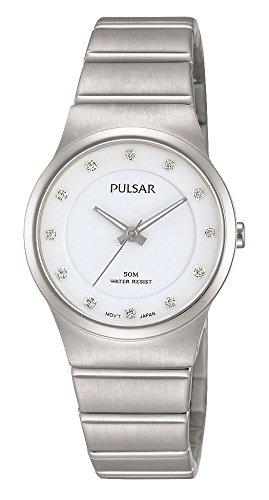 パルサー SEIKO セイコー 腕時計 レディース 【送料無料】Pulsar Womens Analogue Classic Quartz Watch with Stainless Steel Strap PH8175X1パルサー SEIKO セイコー 腕時計 レディース