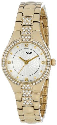 パルサー SEIKO セイコー 腕時計 レディース Pulsar Women's PH8060 Analog Display Japanese Quartz Gold Watchパルサー SEIKO セイコー 腕時計 レディース