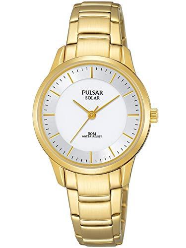 パルサー SEIKO セイコー 腕時計 レディース 【送料無料】Pulsar Women's Analog Quartz Watch with Stainless Steel Strap, Gold, 4 (Model: PY5042X1)パルサー SEIKO セイコー 腕時計 レディース