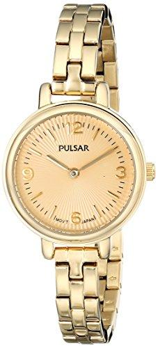 腕時計 パルサー SEIKO セイコー レディース 【送料無料】Pulsar Women's PM2086 Easy Style Collection Gold-Tone Stainless Steel Watch腕時計 パルサー SEIKO セイコー レディース