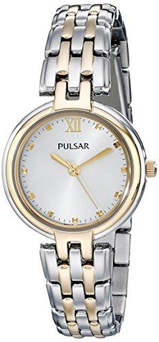 パルサー SEIKO セイコー 腕時計 レディース Pulsar Women's PH8128 Two-Tone Stainless Steel Watchパルサー SEIKO セイコー 腕時計 レディース