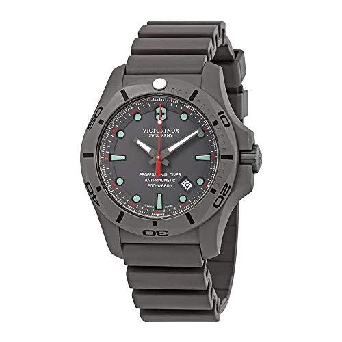 腕時計 ビクトリノックス スイス メンズ 【送料無料】Victorinox I.N.O.X. Professional Diver Grey Dial Men's Watch 241810腕時計 ビクトリノックス スイス メンズ
