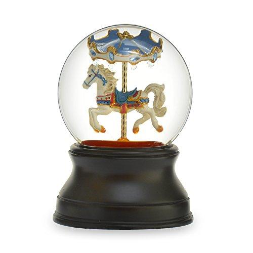 スノーグローブ 雪 置物 インテリア 海外モデル 【送料無料】The San Francisco Music Box Company Gemstone Carousel Horseスノーグローブ 雪 置物 インテリア 海外モデル