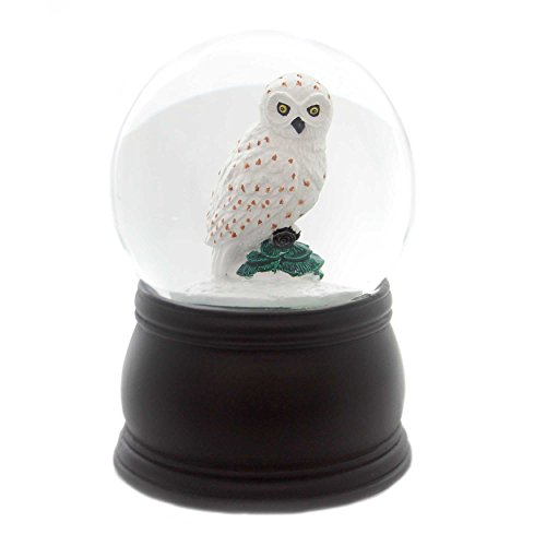 スノーグローブ 雪 置物 インテリア 海外モデル 【送料無料】Old World Christmas Great White Owl Snow Globeスノーグローブ 雪 置物 インテリア 海外モデル