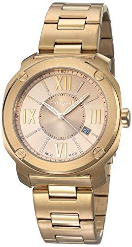 ウェンガー スイス メンズ 腕時計 【送料無料】Wenger Men's Analogue Quartz Watch with Stainless Steel Strap 01.1141.121ウェンガー スイス メンズ 腕時計