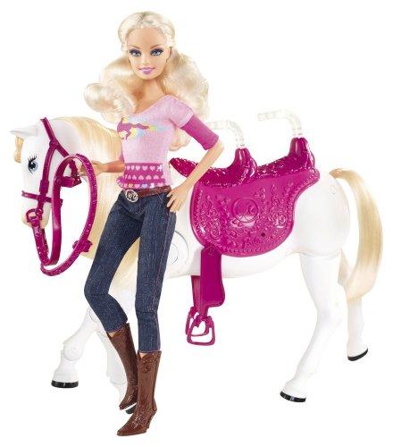 バービー バービー人形 【送料無料】Barbie and Tawny Walking Together Doll and Horse Setバービー バービー人形