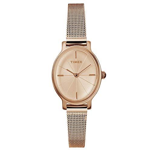 タイメックス 腕時計 レディース Timex Womens Milano Oval Watch - Rose Goldタイメックス 腕時計 レディース