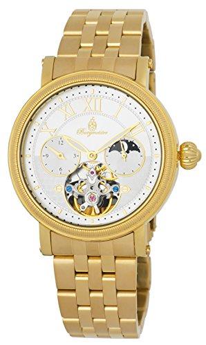 ブルゲルマイスター ドイツ高級腕時計 メンズ 【送料無料】Burgmeister Men's Automatic-self-Wind Watch with Stainless-Steel-Plated Strap, Gold, 22 (Model: BM344-279)ブルゲルマイスター ドイツ高級腕時計 メンズ