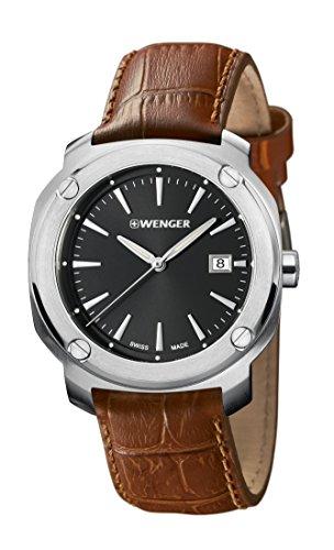ウェンガー スイス アーミーナイフ メンズ 腕時計 Wenger Men's Edge Indexウェンガー スイス アーミーナイフ メンズ 腕時計