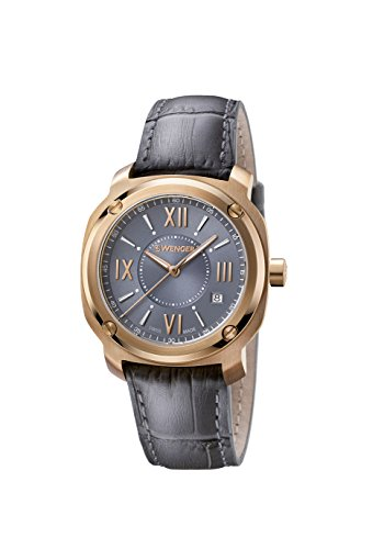 ウェンガー スイス 腕時計 レディース 【送料無料】Wenger Women's Analogue Quartz Watch with Leather Strap 01.1121.111ウェンガー スイス 腕時計 レディース