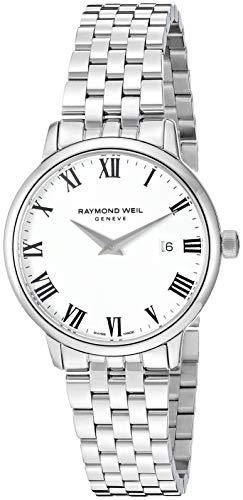 """レイモンドウィル 腕時計 レディース スイスの高級腕時計 【送料無料】Raymond Weil Women""""s 5988-ST-00300 Toccata Analog Display Quartz Silver Watchレイモンドウィル 腕時計 レディース スイスの高級腕時計"""