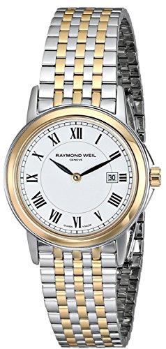 レイモンドウィル 腕時計 レディース スイスの高級腕時計 Raymond Weil Women's 5966-STP-00300 Tradition Analog Display Swiss Quartz Two Tone Watchレイモンドウィル 腕時計 レディース スイスの高級腕時計