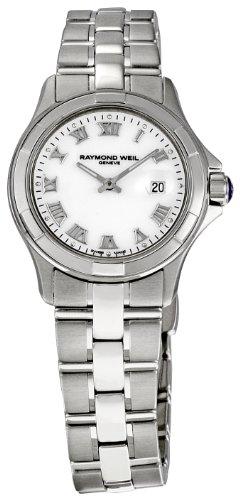 レイモンドウィル 腕時計 レディース スイスの高級腕時計 Raymond Weil Women's 9460-ST-00308 Parsifal White Dial Watchレイモンドウィル 腕時計 レディース スイスの高級腕時計