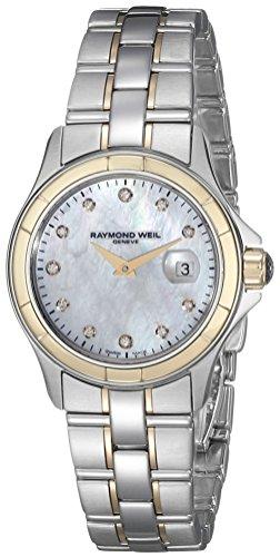 レイモンドウィル 腕時計 レディース スイスの高級腕時計 Raymond Weil Women's 9460-SG-97081 Two-Tone Stainless Steel Watchレイモンドウィル 腕時計 レディース スイスの高級腕時計