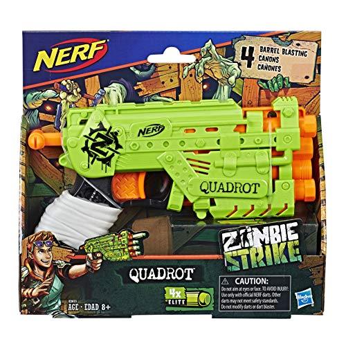 ナーフ ゾンビストライク アメリカ 直輸入 ソフトダーツ 【送料無料】NERF Ner Zombie Strike Quadrot Blaster Toyナーフ ゾンビストライク アメリカ 直輸入 ソフトダーツ