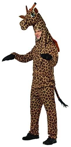 コスプレ衣装 コスチューム その他 【送料無料】Rasta Imposta Giraffe Costume, Brown/Yellow, One Sizeコスプレ衣装 コスチューム その他