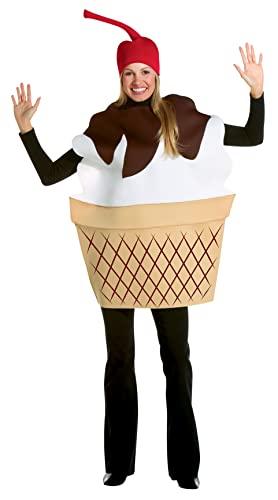 コスプレ衣装 コスチューム その他 【送料無料】Rasta Imposta Ice Cream Sundae, Multi, One Sizeコスプレ衣装 コスチューム その他
