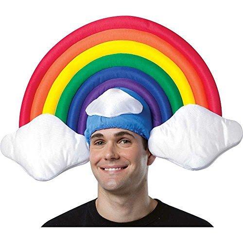 コスプレ衣装 コスチューム その他 【送料無料】Rasta Imposta Rainbow Hat, Multi, One Sizeコスプレ衣装 コスチューム その他