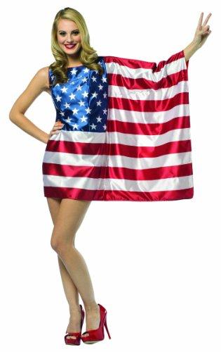 コスプレ衣装 コスチューム その他 【送料無料】Rasta Imposta Flag USA Dress Red/White/Blue, Women's Size 4 - 10コスプレ衣装 コスチューム その他