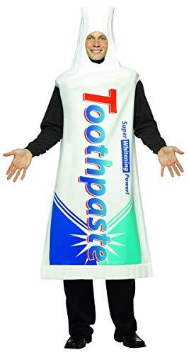 コスプレ衣装 コスチューム その他 【送料無料】Toothpaste Costume Adultコスプレ衣装 コスチューム その他
