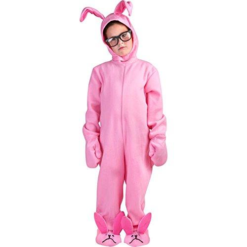 コスプレ衣装 コスチューム その他 A Christmas Story Kid Pink Bunny Suitコスプレ衣装 コスチューム その他