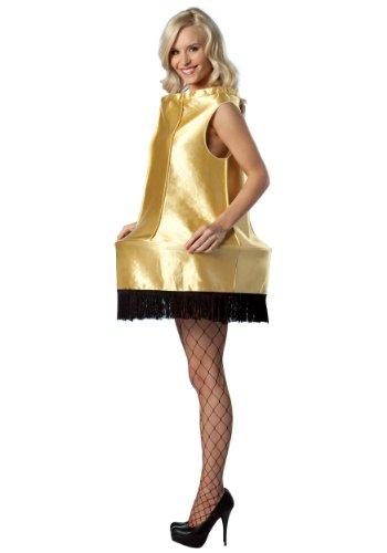 コスプレ衣装 コスチューム その他 【送料無料】Rasta Imposta A Christmas Story Foam Leg Lamp Costume, Gold, One Sizeコスプレ衣装 コスチューム その他