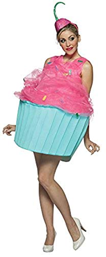 コスプレ衣装 コスチューム その他 【送料無料】Rasta Imposta Cupcake Costume, Pink/Blue, Adult size 4-10コスプレ衣装 コスチューム その他