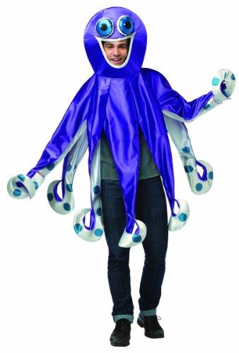 コスプレ衣装 コスチューム その他 Rasta Imposta Men's Octopus, Multi, One Sizeコスプレ衣装 コスチューム その他