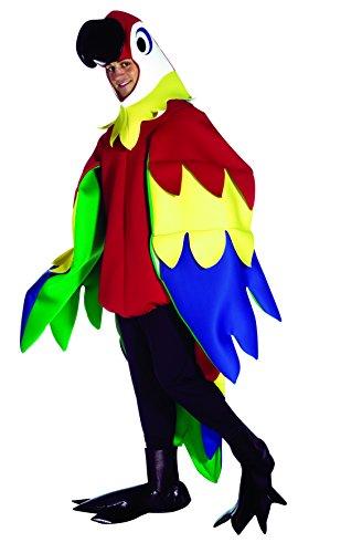 コスプレ衣装 コスチューム その他 Rasta Imposta Deluxe Parrot Costume, Multi, One Sizeコスプレ衣装 コスチューム その他