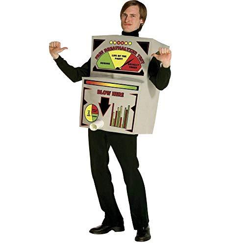 コスプレ衣装 コスチューム その他 【送料無料】Breathalyzer Costume Adult Costume - One Sizeコスプレ衣装 コスチューム その他