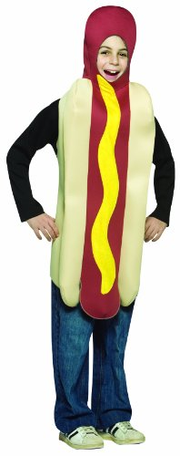 コスプレ衣装 コスチューム その他 Rasta Imposta Lightweight Hot Dog Childrens Costume, 7-10, Multicolorコスプレ衣装 コスチューム その他
